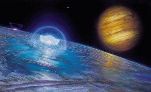Jupiterov mesec Evropa, kandidat za život