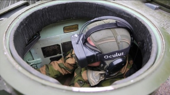 Occulus Rift, vojna primena VR tehnologije