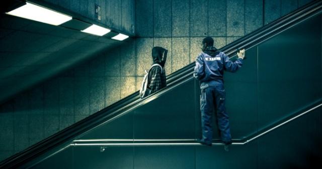 """4am: Dusseldorf, Nemačka, """"Urbana geometrija"""". Foto:Marius Vieth"""