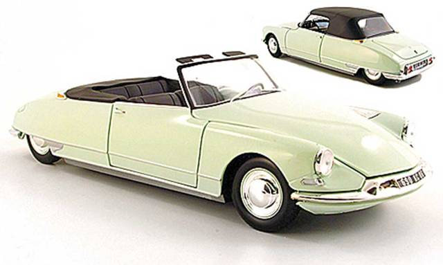 Citroen DS 19 No.255 Lebes / Failly Mille Miglia 1957 Rio