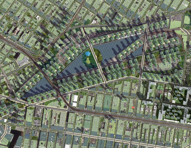 Vizija morfološke promene grada primenom samoodrživosti