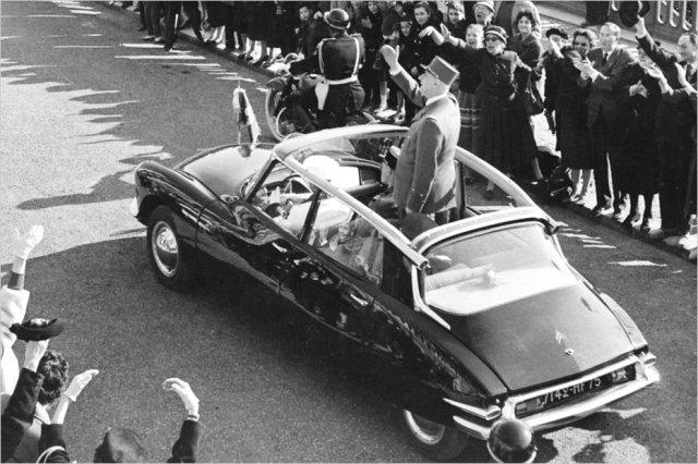 Predsednik Charles De Gaulle bio je veliki poklonik Citroenove 'Ajkule'