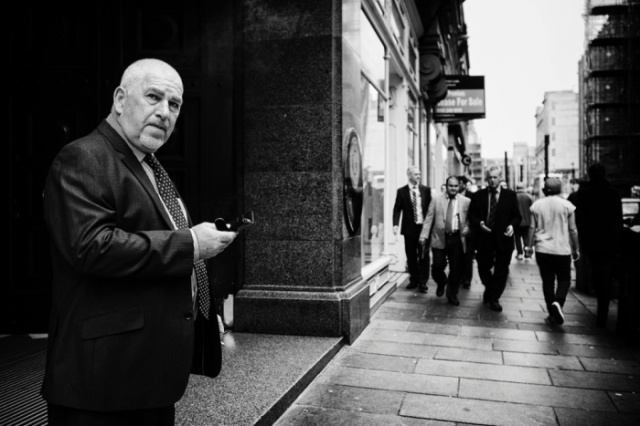 """6pm: Glazgov, Škotska, """"Ljudi od biznisa"""". Foto:Ross Magrath"""