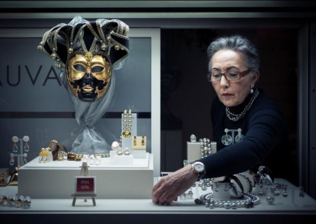 """Ukupni pobednik i 'Urbani fotograf 2014' za fotografiju """"Maska društva"""" je Nemac Marius Vieth"""
