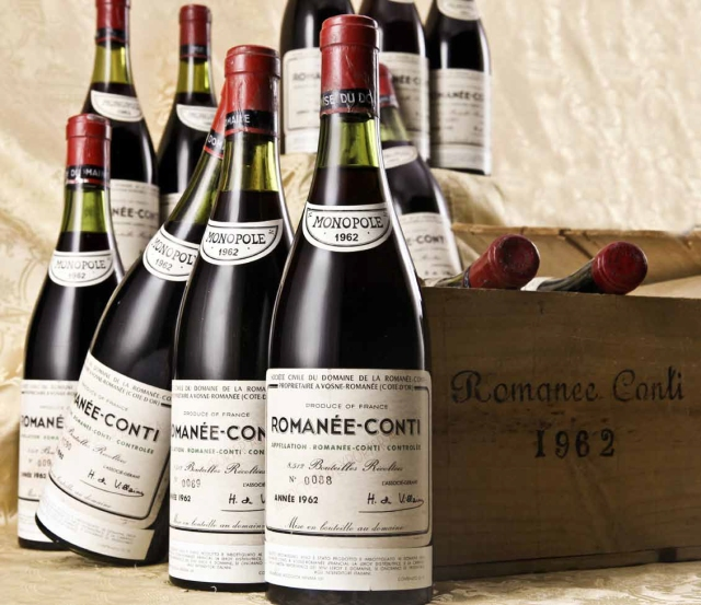 Boca vina Romanee Conti iz 1962. godine