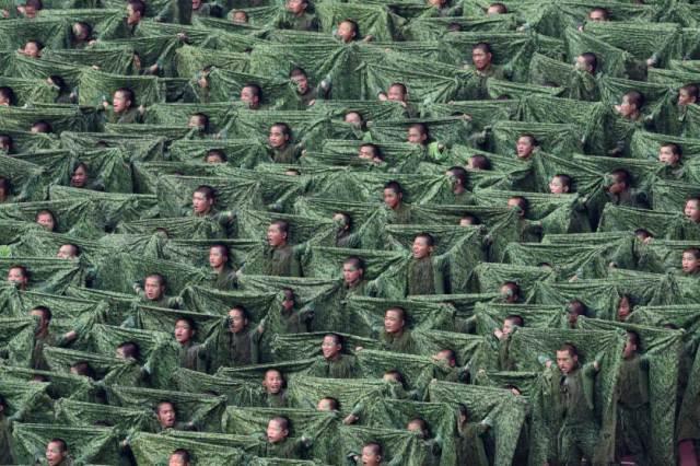 Učesnici otvaranja Svetskog prventsva u atletici, Peking 22. avgust
