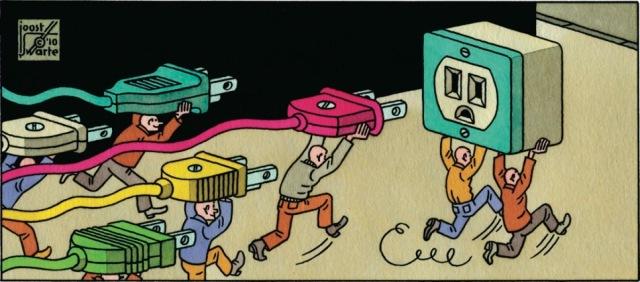 Solouov paradoks: Čak i kad tehnologija napreduje, produktivnost može da zaostaje (Foto: New Yorker)