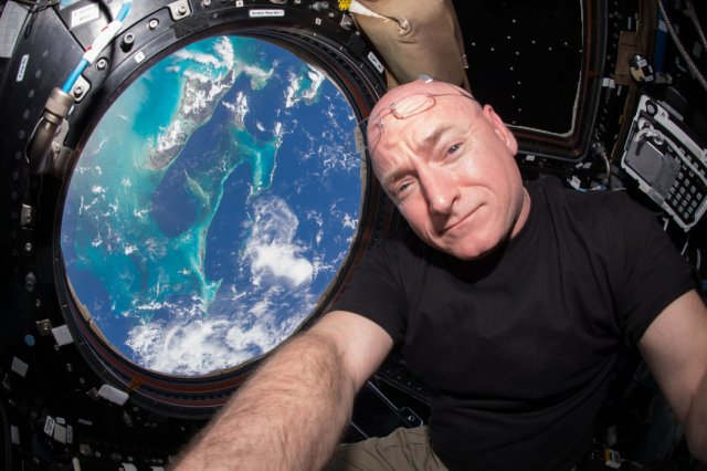 Skot Keli, astronaut NASA koji je najduže boravio u kosmosu. Foto: NYT