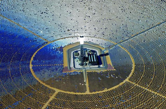 Nova snaga sunca: Solarno-termalna kula (STP) u Ajvanpahu, SAD