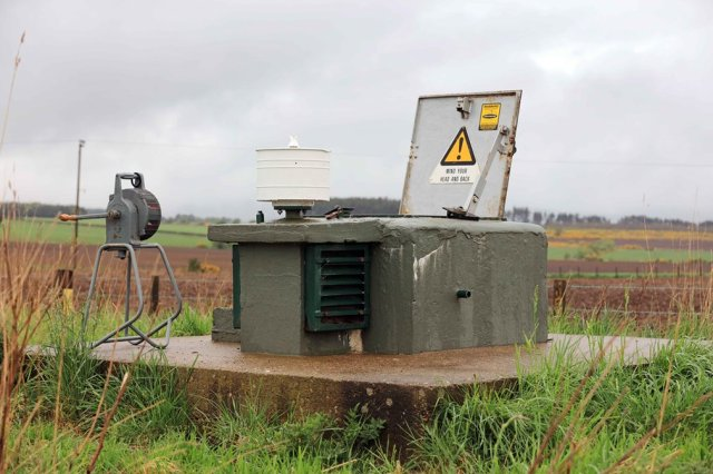"""""""Dun 25 Bunker"""" (Bunker Smeđi 25), Džima Šerita iz Brečina, Škotska. Kategorija: istorijski objekat"""