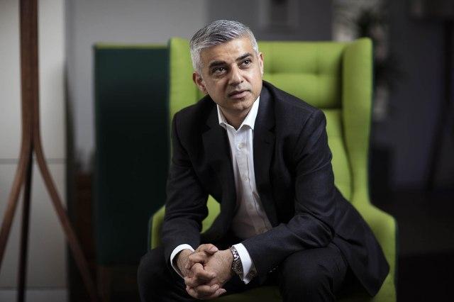 Gradonačelnik Londona, laburista Sadiq Khan. Foto: Simon Dawson/Bloomberg