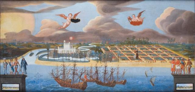 Tvrđava Dansborg u Trankebaru (Ove Gjedde, 1658.)