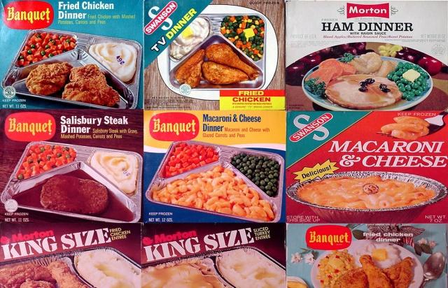 Televizijska večera, simbol američke instant-hrane