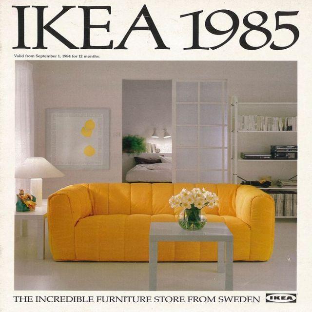 Ikein katalog izdat pre tri decenije