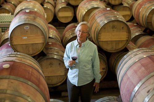 Keti Korison, prva vinarka u dolini Napa, Kalifornija