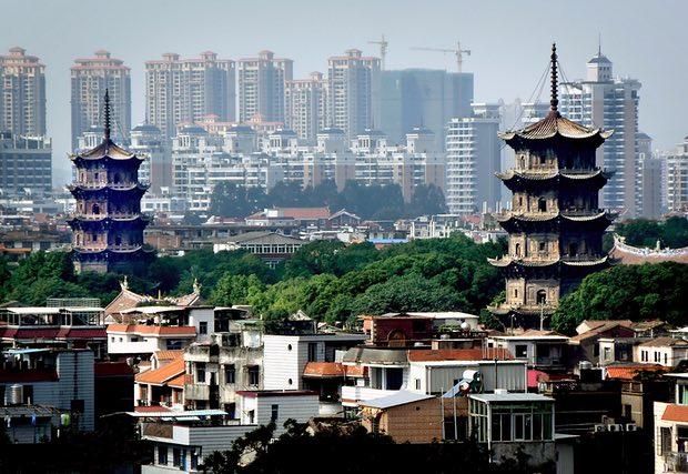 Pagode Ženguo i Renšo u gradu Kvanžu Quanzhou. Foto: Xinhua/Alamy