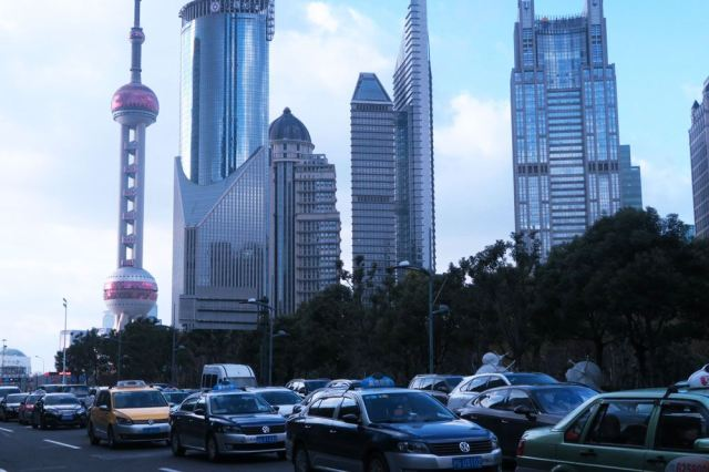Munjevito poput Kine: do pre samo nekoliko decenija, ovaj deo Šangaja bile su oranice. Foto: Tech in Asia