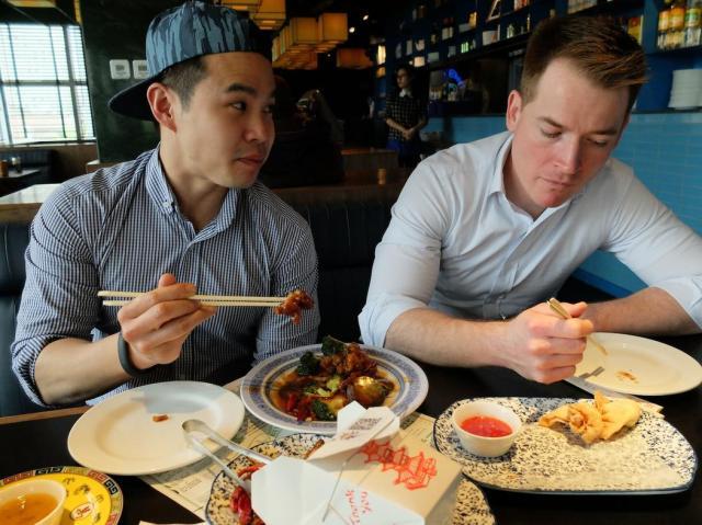 Fang (levo), i Dejv (desno). Svi fotosi su autorovi (Džejm Fulerton)