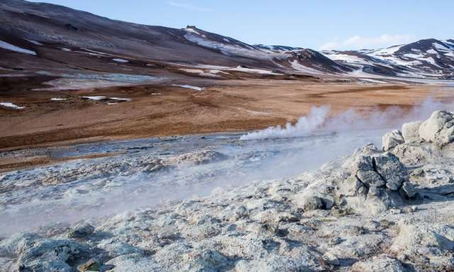 Sumporna isparenja,geotermalna oblast Hverir (Robert Ormerod)