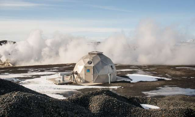 Geotermalna centrala za proizvodnju struje, jezero Mývatn (Robert Ormerod)