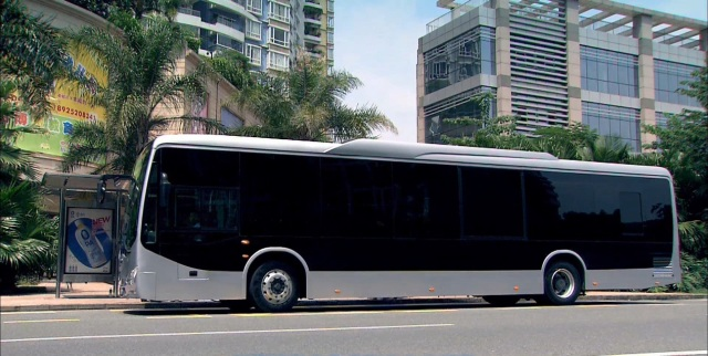 Kineski elektrobus kojeg proizvodi BYD Motor, Inc.