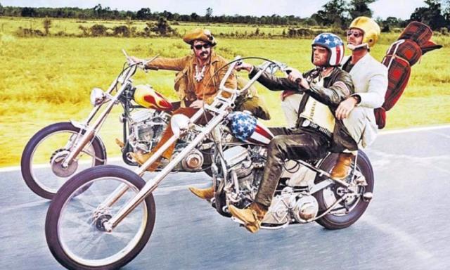 """Goli u sedlu"" (Easy Rider), 1969."