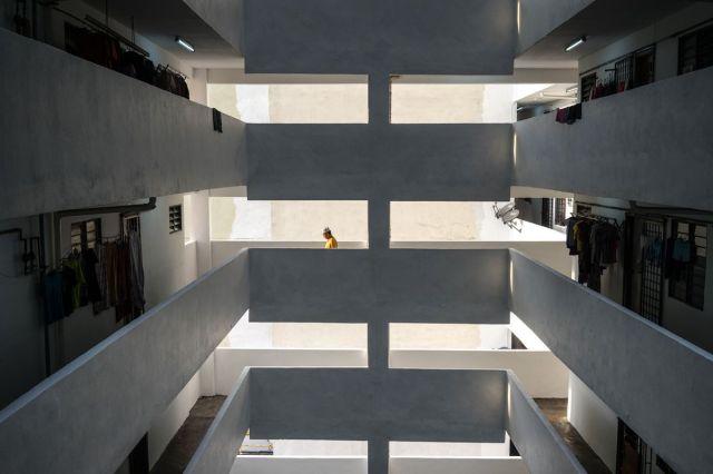 Žitelj zgrade sa socijalnim stanovima u Kuala Lumpuru, 2. avgust Qilai Shen/Bloomberg