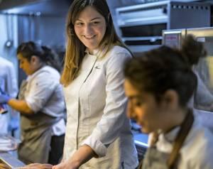 María José Martínez, kuhinja restorana Lienzo, Valensija