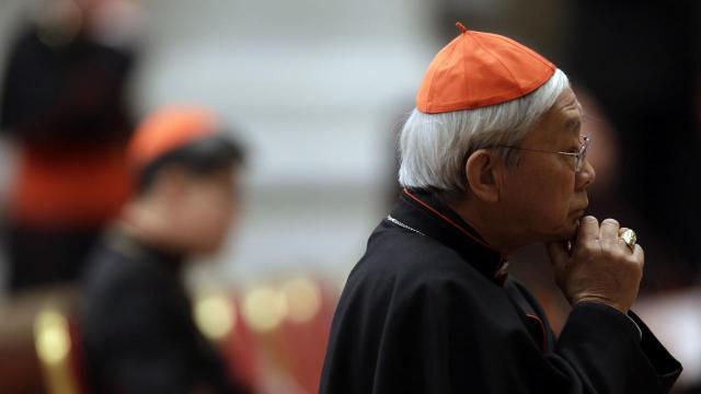 Kardinal Hong Konga, Joseph Zen, usprotivio se odluci Vatikana da prizna katoličke biskupe koje protežira kineska vlada