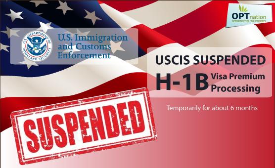 Trampova administracija je 3. marta 2017. privremeno suspendovala H-1B vize, koje USCIS izdaje samo vrhunskim stručnjacima i izvanrednim talentima