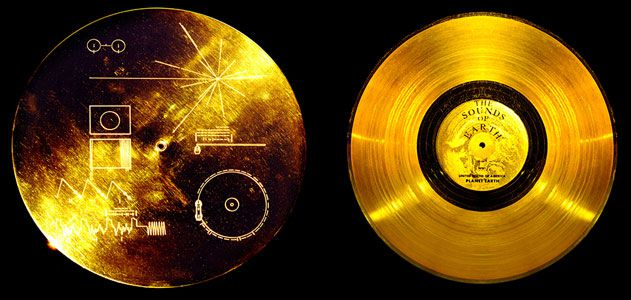 Obe sonde, Vojadžer 1 i 2, izaslanici su čovečanstva koji kroz svemir nose zlatne diskove na kojima su urezani podaci o naučnim saznanjima, kulturi, umetnosti, muzici, filmu... o onome što čini nas, ljudsku vrstu