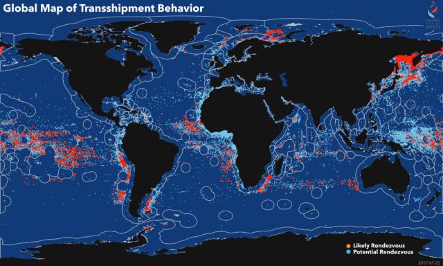 Satelitsko praćenje prevoza i primopredaje tereta sa rifera na manje brodove, uz direktnu kontrolu uslova u kojima se hrana transportuje