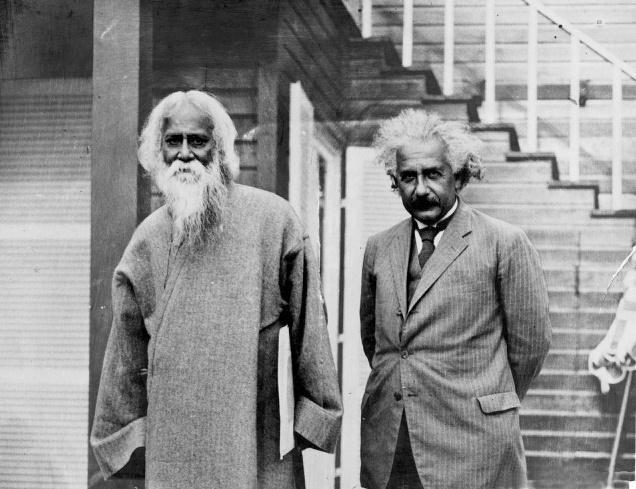 Rabindranat Tagore i Albert Ajnštajn