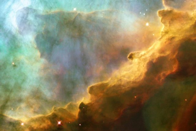 Omega maglina (M17), kako se vidi iz NASA-inog Hablovog teleskopa (NASA)