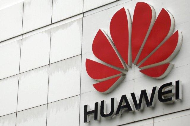 Logotip Huawei Technologies Co Ltd u svom sedištu u Šenženu, provincija Guangdong [Fotografija / agencije]
