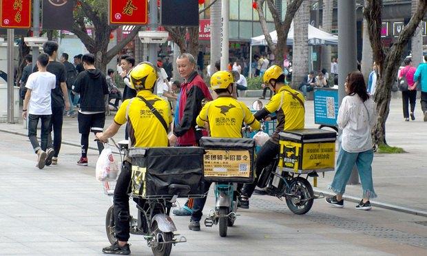 Gigant za isporuku hranu Meituan Dianping proširio se i na isporuku bicikala kao i na isporuku prehrambenih proizvoda, dok se zahuktava konkurencija na kineskoj start-up sceni.