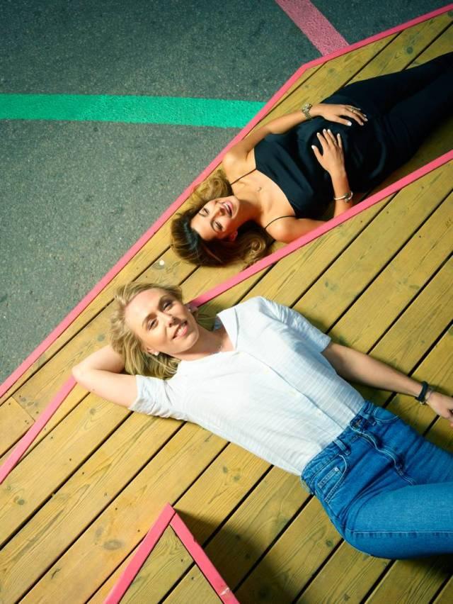 Lisa Kjelkvist i Tara Derašhan, osnivači startup firme Sniph