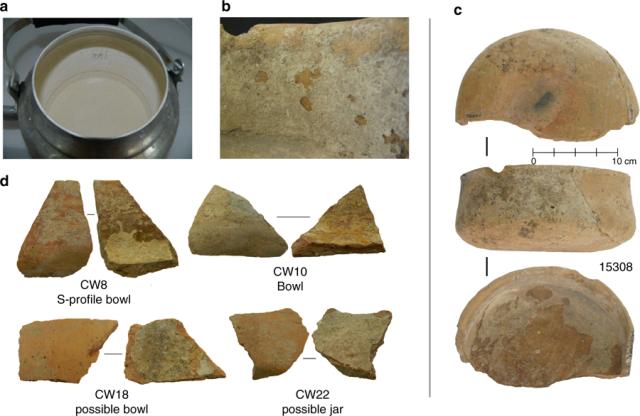 Ostaci kalcifikata (CaCO3) na zidovima keramičkih šolja za čaj