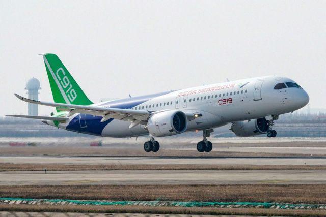Kineski putnički avion uskog trupa ulazi u trku sa Boingom 737 Max 8 i Erbasom320.