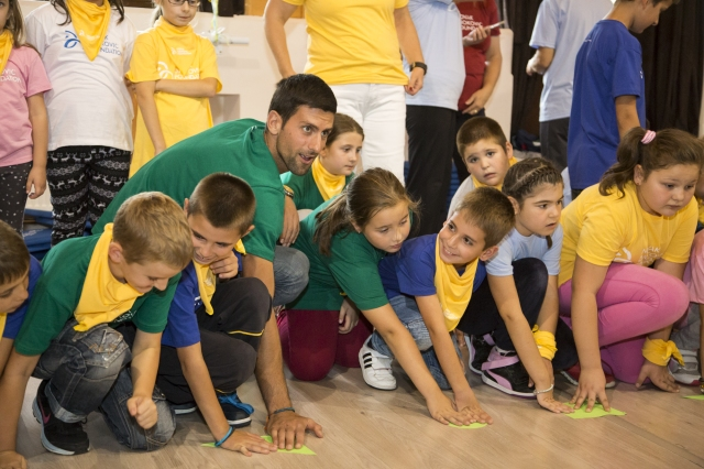 Foto: Novak Djokovic Foundation